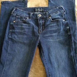 Lucky Brand Brooke Slim Boot Stretch Jean size 0